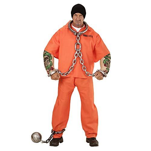 Widmann 00644 Karnevalskostüm, orange, XL