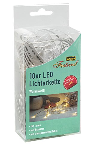 idena-led-lichterkette-micro-10-er-fur-innen-lange-240-m-warmweiss-31116