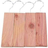 JOMSK Holzfarbe Hang-Ups Anti-Einlage Moth Away Repellent für Schränke und Schubladen preisvergleich bei billige-tabletten.eu