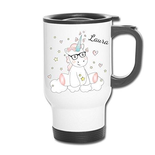 ACERO inox. Taza Térmica Taza Térmica Taza de café latte Vaso Con N