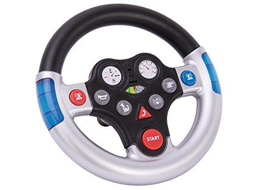 BIG 800056493 - Rescue-Sound-Wheel Kinderfahrzeug, Silber