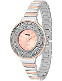 Youth Club K-04BKTT New Moving Stone Two Tone Dial Set For Girls