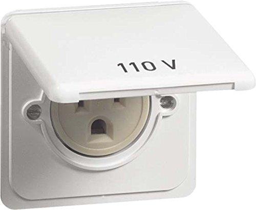 peha US NEMA-Steckdose D 80.6670/20.02 US K KD,20A 125V,reinweiß Standard Steckdose 4010105472219