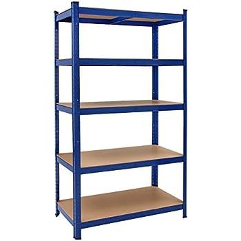 deuba tag re charge lourde metallique 180x90x40 cm bleu. Black Bedroom Furniture Sets. Home Design Ideas