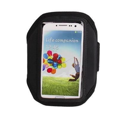 Sportarmband / Handy Armtasche in schwarz für Samsung ATIV S / GT-I8750, Galaxy S3 / GT-I9300, Galaxy S3 LTE GT-I9305, Galaxy S4 / GT-I9505 / GT-I9500 / Samsung GT-I9250, BlackBerry Z10, Google Galaxy Nexus / Nexus 4 / LG E960, HTC One / M7 / 801e, One mini / M4, One X / S720e, One XL, Sensation XL / G21 / X315e, Titan / X310e / Eternity, Windows Phone 8X / Zenith, LG P880 Optimus 4X HD, P936 Optimus True HD LTE, Motorola RAZR / XT910, Nokia Lumia 920, Lumia 925, Sony Xperia ion / LT28i, Xperia Z / L36i / L36h, Xperia L / Xperia S / Arc HD / LT26i, Xperia T / LT30i / LT30p, Xperia V / LT25i
