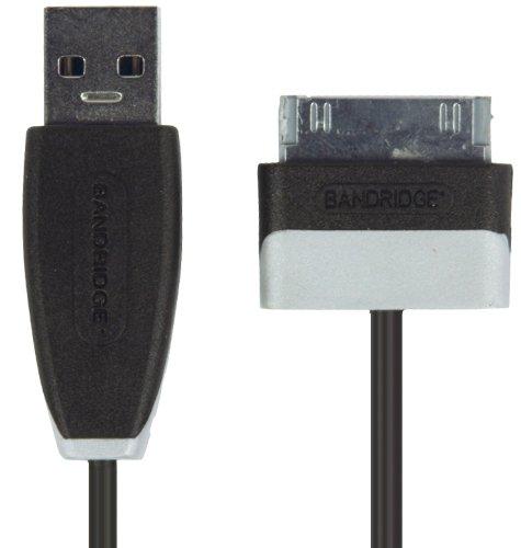 Bandridge bbm39200b20USB-Kabel–USB Kabel (USB A, Samsung 30-p, Stecker/Stecker, schwarz)
