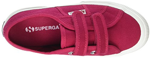 Superga 2750 Jvel Classic, Sneakers Basses Mixte Enfant Red (X6R Red Cerise)