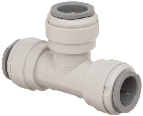 John Guest Acetal Copolymer Tube Fitting, Union Tee, 1/4 Tube OD (Pack of 10) by John Guest - John Guest Rohr