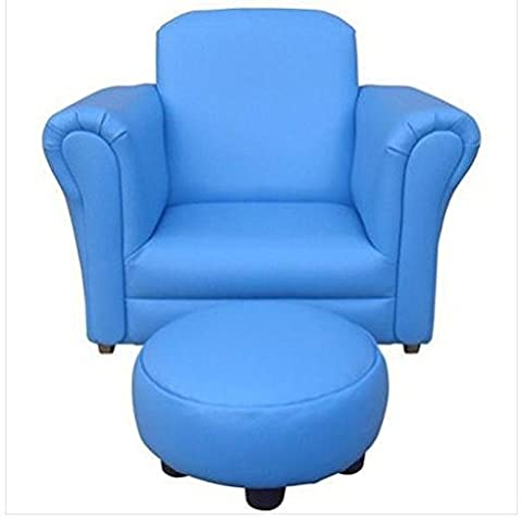 Children's Rocking Chair With Footstool (blue)/ Bedding Bedroom Table Sets