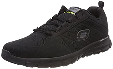 Skechers Synergy Power Switch, Herren Sneakers, Schwarz (BBK), 39 EU