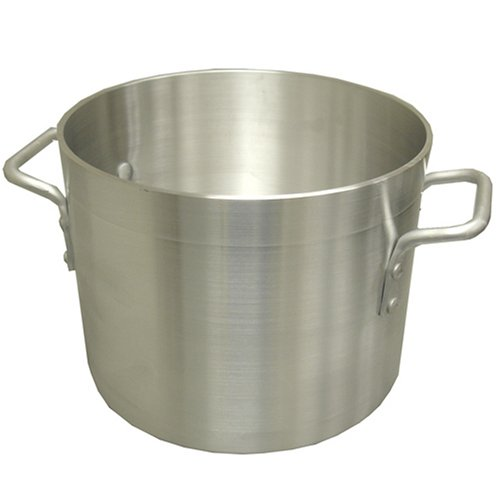 Winware Professional Aluminum 16-Quart Stockpot by Winware 16 Quart Aluminium Stock Pot