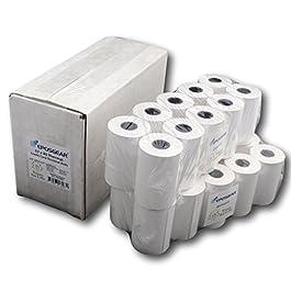 """EPOSGEAR Rotoli di carta termica per lettore di carta di credito PDQ """"Ingenico"""", per stampare scontrini (confezione da 20)"""