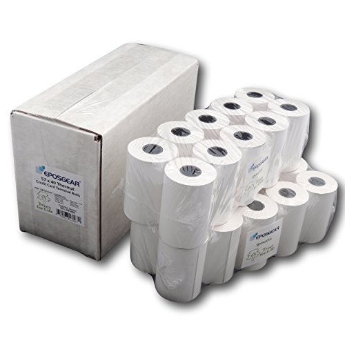 Rolls Machine Card Credit (Till rolls/Chip & Pin Rolls For Verifone VX670 57x40 thermal Credit card Machine Rolls)
