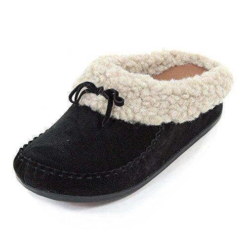 FitflopThe Cuddler Snugmoc - Pantofole donna Marrone (Chestnut)