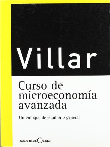 Curso de macroeconomía avanzada por Antonio Villar