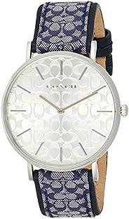 Coach Womens Quartz Wrist Watch, Navy Strap - 14503389