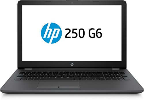 HP 250 G6 Notebook PC, Display LCD 15.6' HD LED, Core i3-6006U, 4 GB DDR4, SATA 500 GB, Intel HD 520, Argento Cenere Scuro [Layout Italiano]