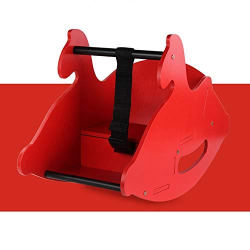 AIBAB Baby Schaukelpferd Hölzern Schaukelstuhl Für Kinder Kleinkind Rocker Duale Verwendung 0-3 Jahre Alt Wiegen Wiegen Spielzeuge