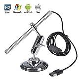 Microscope Numérique USB Endoscope Portable HD 2 en 1 200x loupe Caméra...