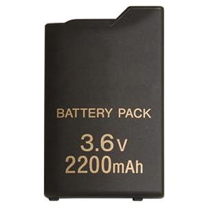 OSTENT 2200mAh 3,6V Aufladbarer Akku Kompatibel für Sony PSP 1000 Konsole