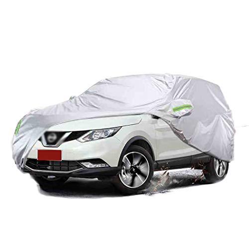 POLKMN Autoabdeckung,Auto Abdeckplane, Car Cover Wasserdichter, atmungsaktiver, winddichter und wasserdichter Regenschutz für den Außenbereich (Color : 2012 Nissan Qashqai)