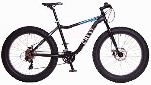 Crest Bicicleta Fat Bike Fat 4,1 24v Negra 19' Aluminio