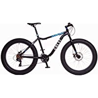 "Crest Bicicleta Fat Bike Fat 4,1 24v Negra 19"" Aluminio"