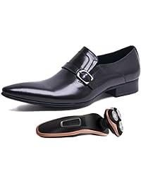 De Cuatro Marrones Negros De Temporadas Cuero Zapatos Puntiagudos para Comerciales Hombre Zapatos De Trabajo Boda yvXHIzASqI