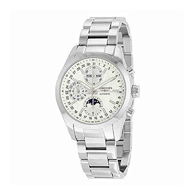 Longines Conquest Classic Automatic Chronograph Moonphase Mens Watch Calendar L2.798.4.72.6