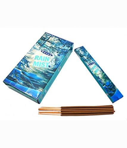 Satya Räucherstäbchen RAIN Mist/Joss Sticks/Agarbatti (von den Schöpfern der Nag Champa), 1 Pack x 20 grams