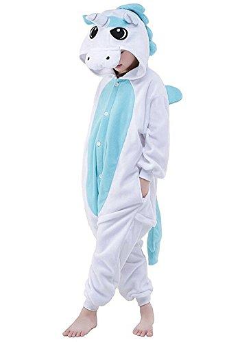 Unisex Cartoon Kigurumi Anime Cosplay Onesie Tierkostüme Pyjamas Schlafanzug Nachtwäsche (Pikachu-strampler)