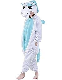 Kinder Schlafanzug Tierkostüme Pyjamas Cartoon Kigurumi Cosplay Onesize Weihnachten Karneval - Très Chic Mailanda