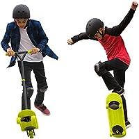 MORFBOARD Skate & Scoot Combo Set, Chartreuse/Black Colour