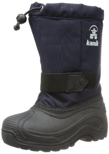 Kamik Tickle8, Stivali da neve unisex bambino, Bleu - Blau (navy NAV), 25