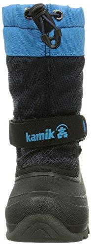 Kamik ICEBERG Unisex-Kinder Warm gefütterte Schneestiefel Blau (NAVY/BLEU (NAV))