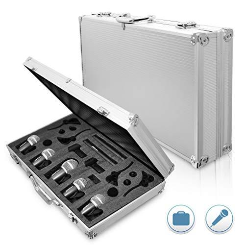 Pyle B003FW0IHA 7 Mikrofon verkabelt Trommel Kit mit Koffer/Montagezubehör Pyle 7
