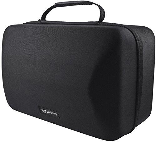AmazonBasics - Custodia di trasporto per cuffie e accessori per PlayStation VR, Nero