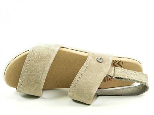 Legero - Savona, Scarpe col tacco con cinturino a T Donna Beige