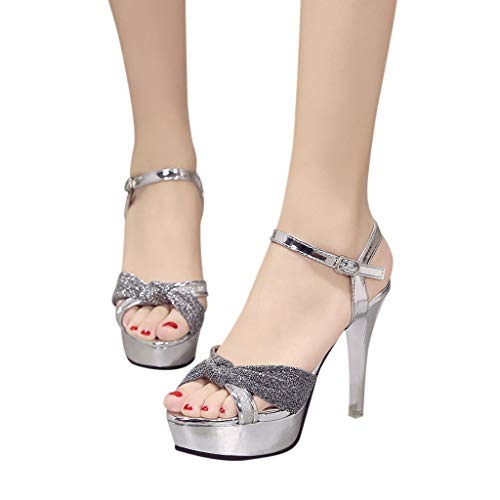 Subfamily scarpe da donna artigianali nuovi sandali open toe con punta aperta piattaforma impermeabile a stiletto con fiocco color sandali donna semplice sandali da ragazza scarpe singole