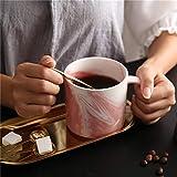 XTSHOP Mugs Stone Pattern Water Heater Mug Gift Ceramic mr mrs Couple Coffee