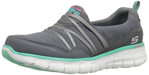 Skechers SynergyScene Stealer, Sneakers basses femme gris (CCAQ)