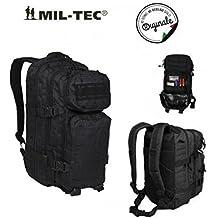 MIL-TEC Mochila US Assault Pack - SM Laser Cut - Negro
