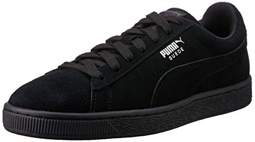 Puma Unisex-Erwachsene Suede Classic + Sneakers, black-dark shadow, 44 EU - Black Dark Shadow