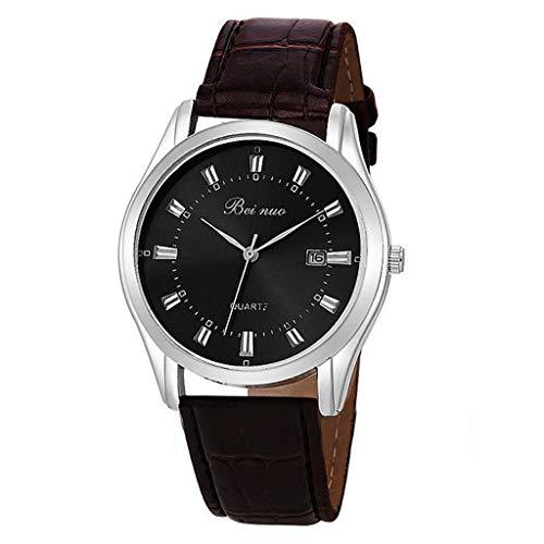 UINGKID Collection Unisex-Armbanduhr Fashion Business Simple Ohne Digital Dial Kleine Kalender Herren Quarz Uhr