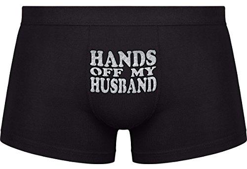 Regali originali per uomo. -Hands off my Husband- Compleanno - San Valentino - Spedizione gratuita.