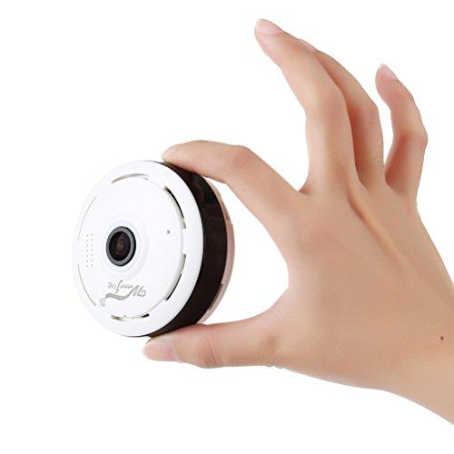 Mini IP Kamera 960P Panorama WiFi HD Zuhause Geschäft Sicherheit IP Videoaufnahme Nachtsicht - 2