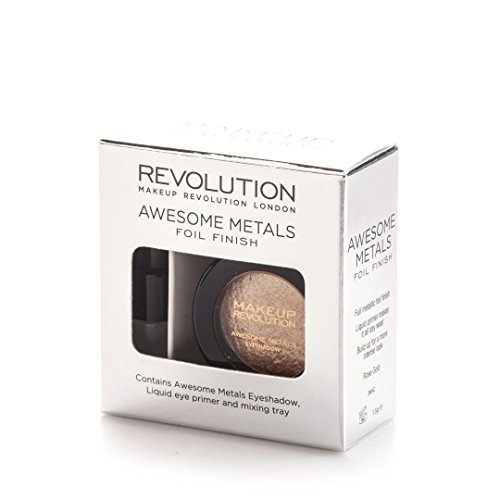 Make Up Revolution London Rose Gold Awesome Metals Eye Foil, 1.5g