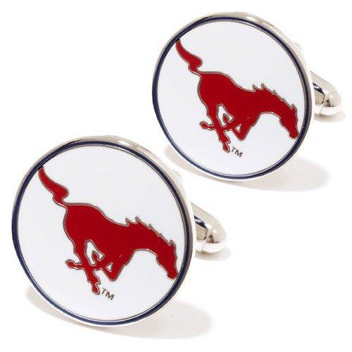 NCAA SMU Mustangs Team Logo Manschettenknöpfe