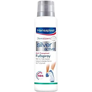 HANSAPLAST Silver Active Fußspray 150 ml Spray