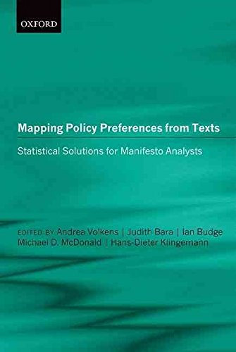 Portada del libro [(Mapping Policy Preferences from Texts: III : Statistical Solutions for Manifesto Analysts)] [Edited by Andrea Volkens ] published on (January, 2014)